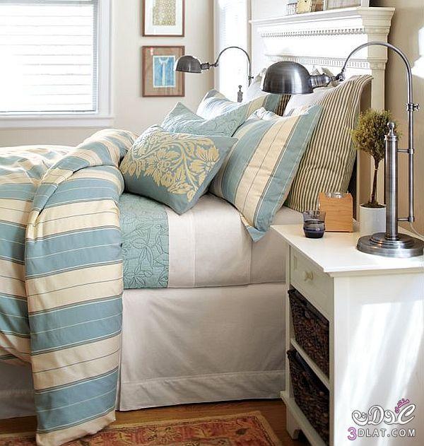 مفروشات السرير الانيقة بلمسات الشتاء