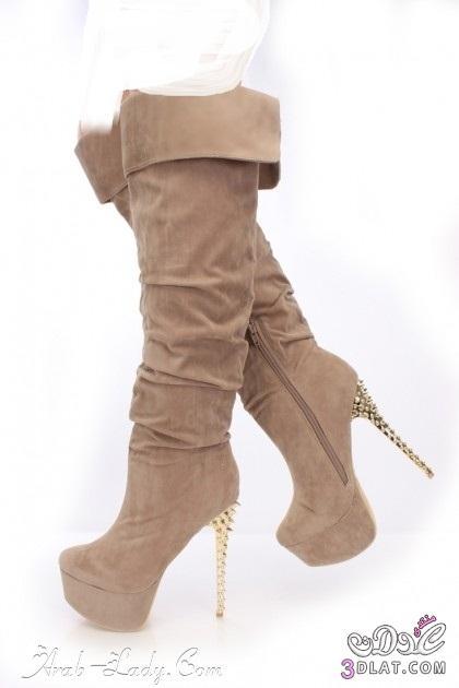 07cd1cdac بوتات شتوبة 2019 احدث صيحات موضة الأحذية الشتوية 2019 - عدلات الونشريس