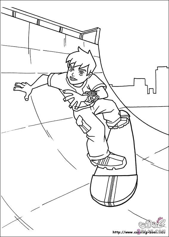 Details Of رسومات Ben 10 للتلوين رسومات بن تن للتلوين رسومات للاطفال عد