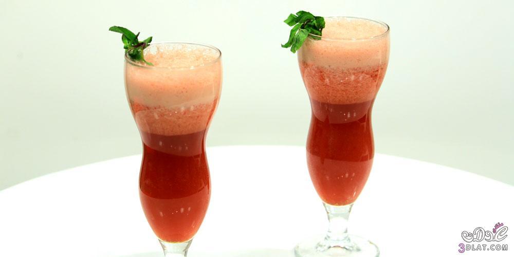 فراولة رايز طريقة تحضير عصير