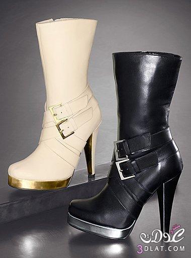 87d199d4c احذية جميلة جدا احذية للشتاء احذية في قمة الاناقة 2019 - مريم ملوكة