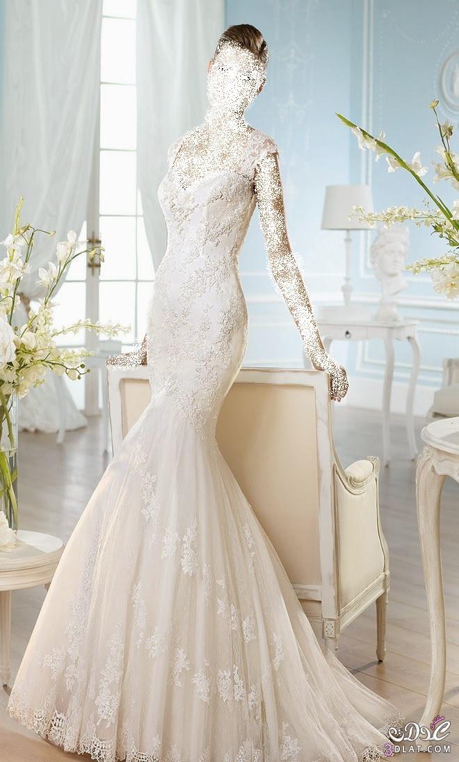 فساتين زفاف رائعة ، أجمل فساتين الزفاف الرقيقة و البسيطة 2019
