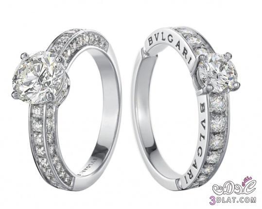 خواتم الماس للعروس 2014 خواتم