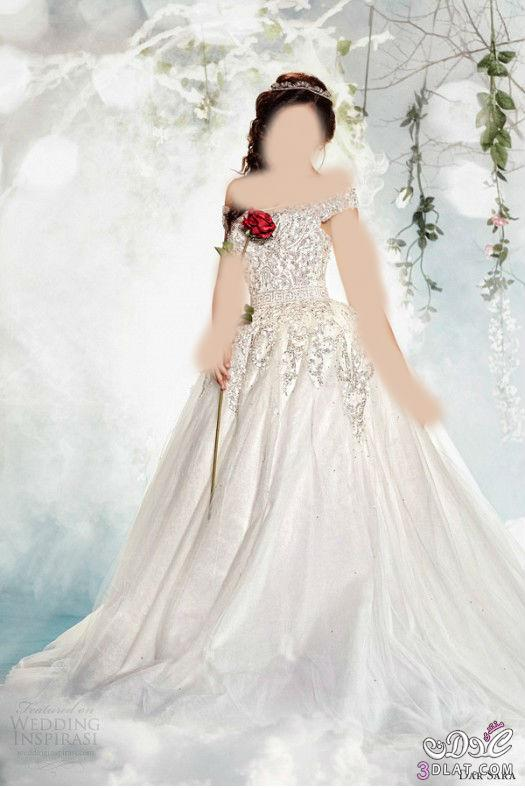 مجموعة فساتين زفاف ابدعتها دار ساره لعرض ألأزياء