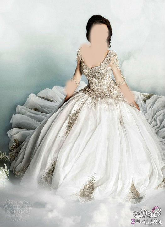 فساتين زفاف قمه في ألأناقه,فساتين زفاف تتمتع بروح الشرق