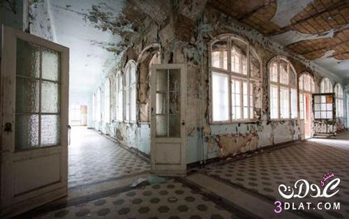 مستشفى هتلر المهجوره