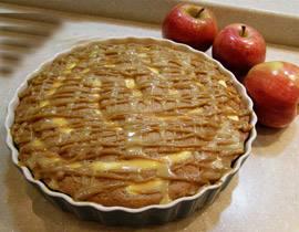 كيكة التفاح الطوفي,طريقه كيكة التفاح