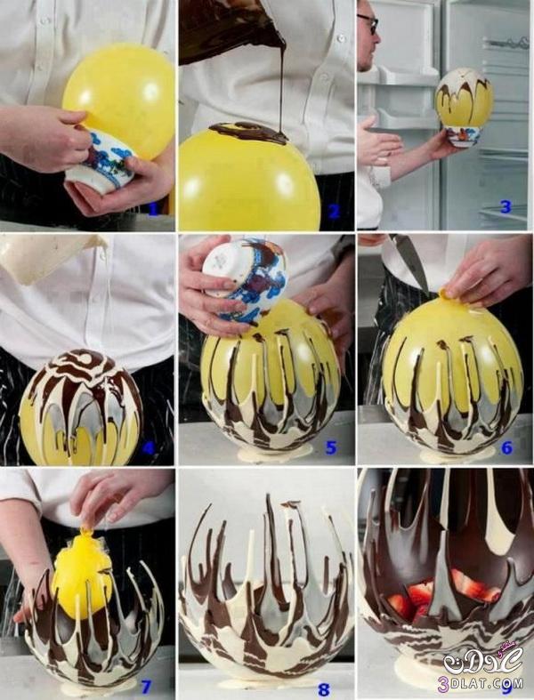 افكار متعددة ومنوعة لاستخدام البالونات