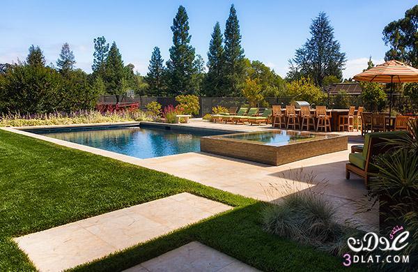 تصميمات حمامات سباحة للشاليهات والفلل