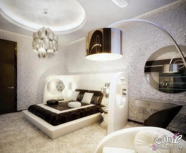 غرف نوم رائعة ديكورات غرف نوم جديدة Decorated bedrooms   توتى 1
