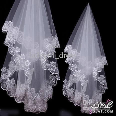طرحة العروسه للزفاف روعه 2014