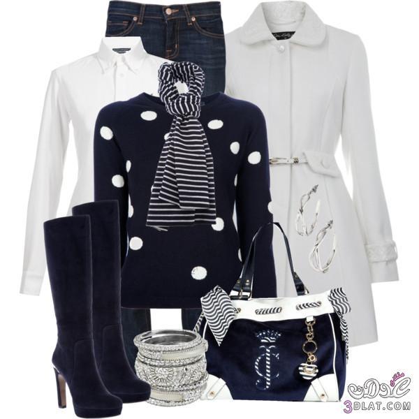 أزياء ملابس شتوية جنان، أجمل