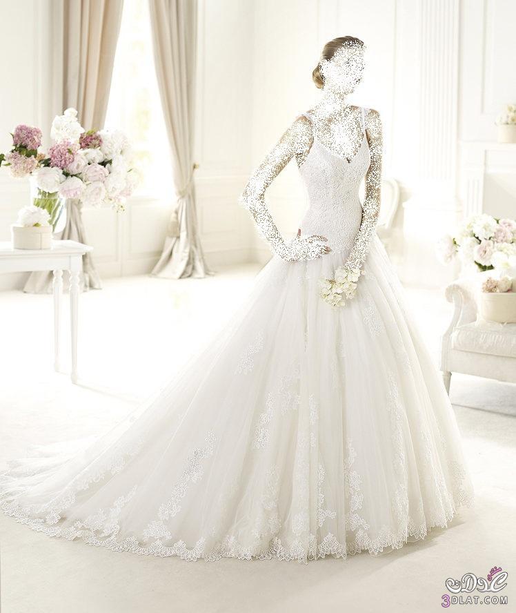فساتين زفاف ناعمة فساتين زفاف