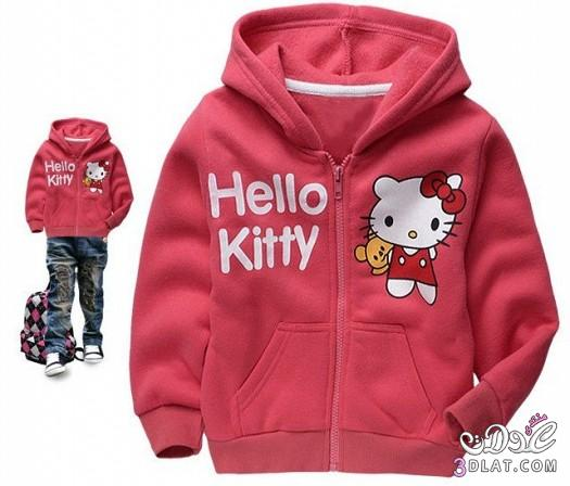 ازياء Hello kitty للاطفال 2014