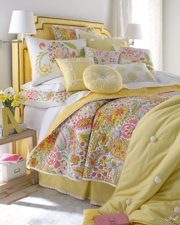 جديد مفروشات السرير مودرن موضه