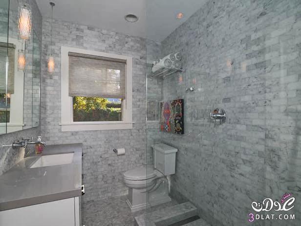 ديكورات حمامات بالصور مودرن 2014,احلى