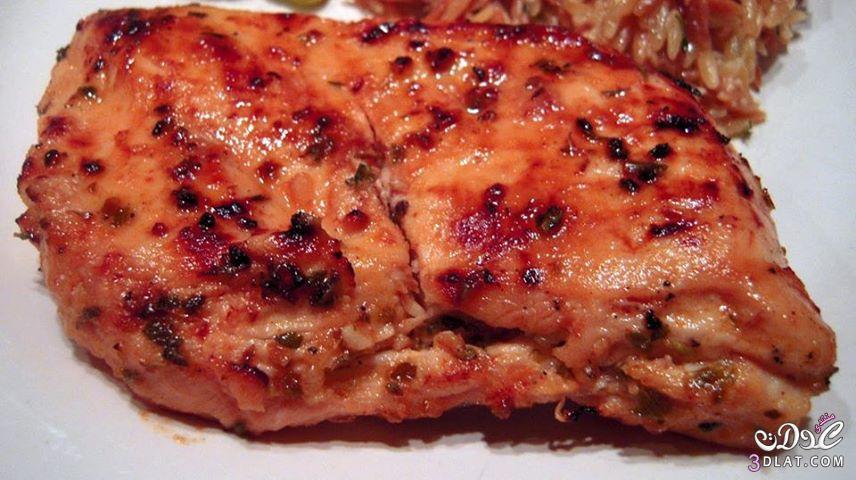 طريقة ديجون الدجاج اليونانية وصفة
