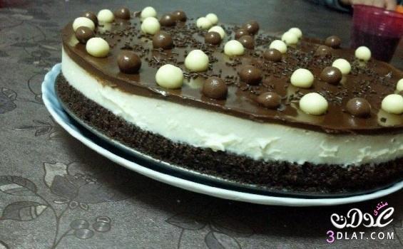 طريقة كعكة الكندر اللذيذة