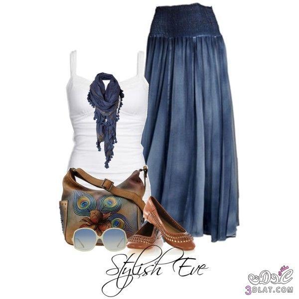 أزياء صيفية شيك، أجمل الاطقم