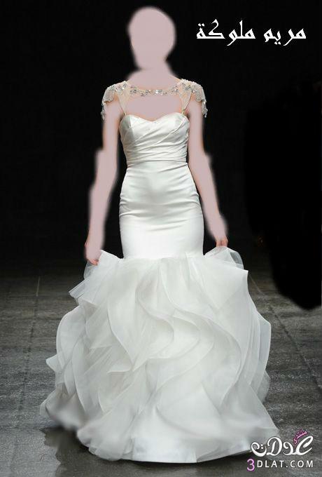 اجمل فساتين زفاف فساتين زفاف