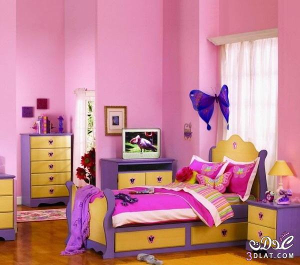 غرف نوم اطفال2018 ديكورات مميزة لغرف نوم الاطفال 2018 غرف نوم بنات