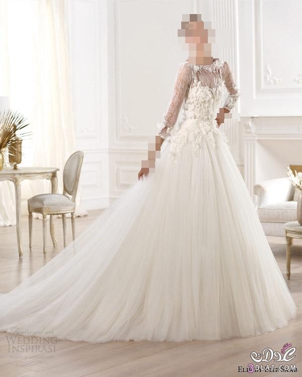 فساتين زفاف حصرية بتصميمات مميزة