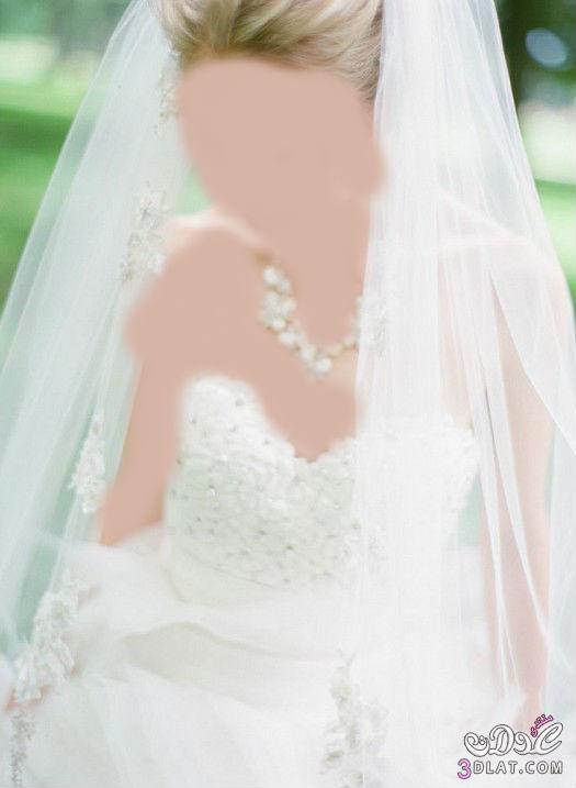 أحدث صيحات الموضه طرحه العروس