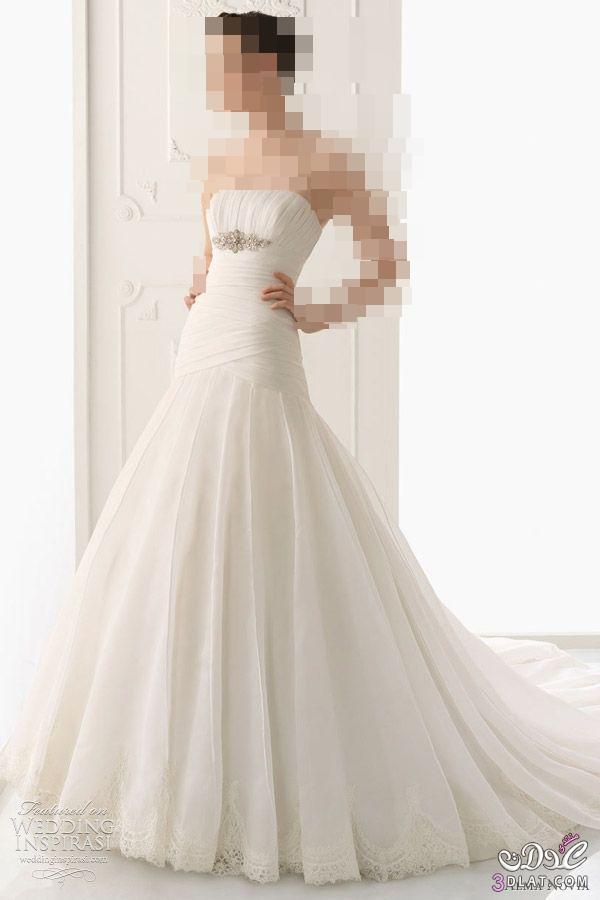 فساتين زفاف رائعة ومميزة بالصور