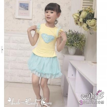 ملابس صيفية للبنات الصغار تشكيلة