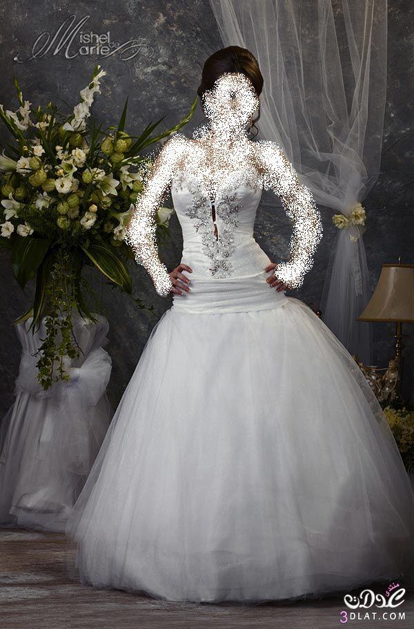 اجدد واجمل فساتين الزفاف 2014