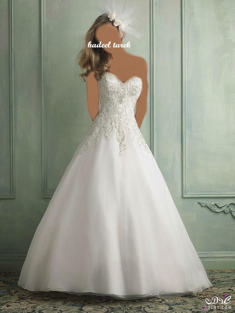 فساتين زفاف جديدة أجمل وأروع