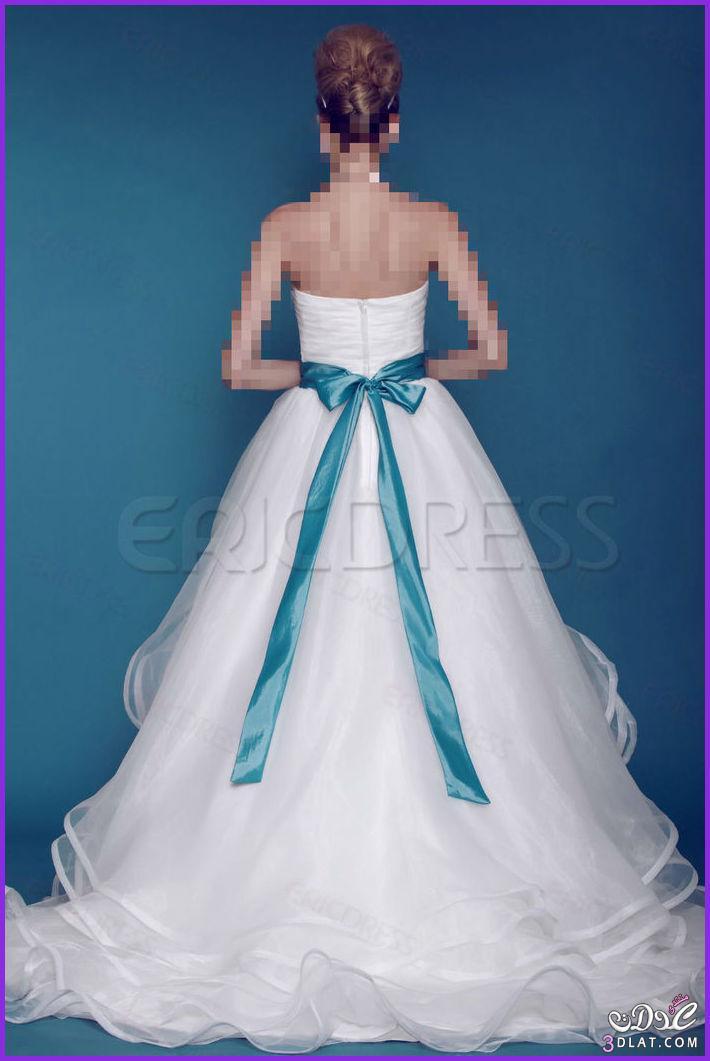 احدث موديلات قساتين الزفاف لعام2014,فساتين