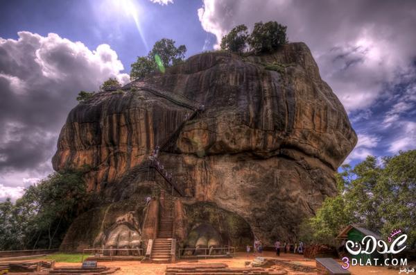 صخرة الاسد بسريلانكا اكتشف اجمل