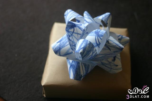 علبة هدايا من الورق بالصور