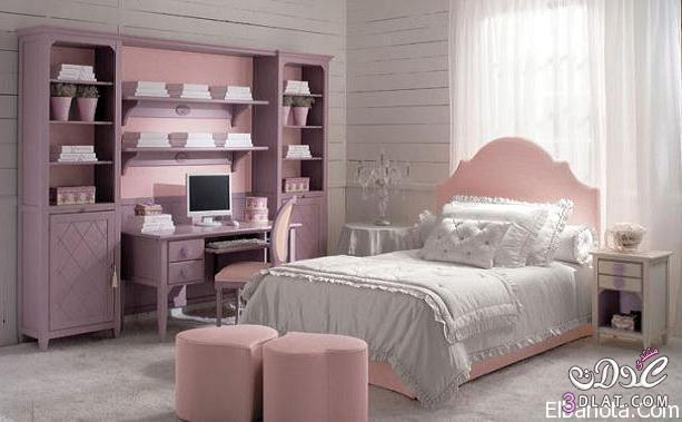 غرف نوم للصبايا, غرف نوم للمراهقات, اجمل ألوان غرف النوم   قصة شتا