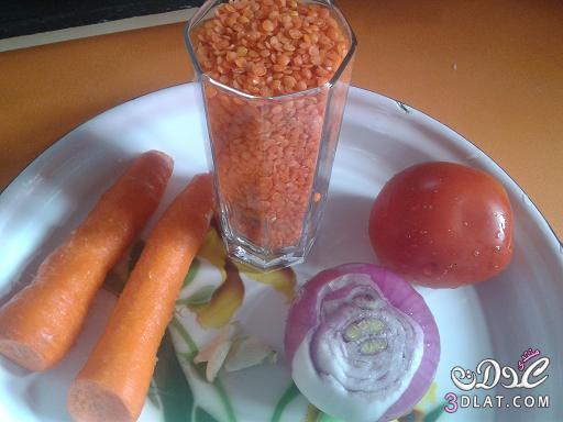 مطبخي شوربه العدس ,شوربه العدس