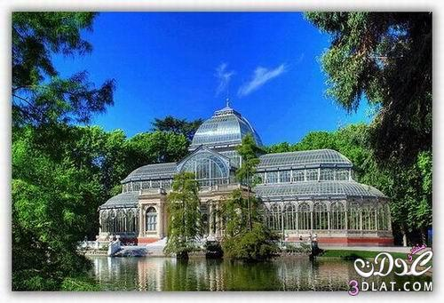 القصر الكريستالي باسبانيا