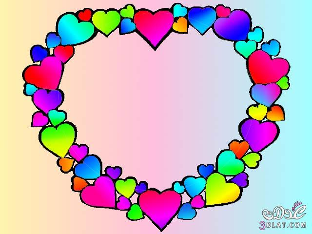 قلوب جميلة قلوب جاهزة للتصميم
