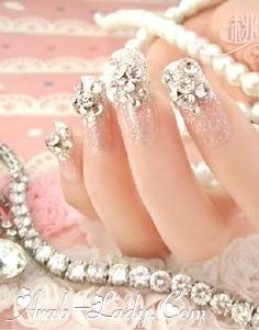 مناكير للعروس 2021  مميز اشكال جميلة بالمناكير للعروس 2021  طلاء اظافر روعة