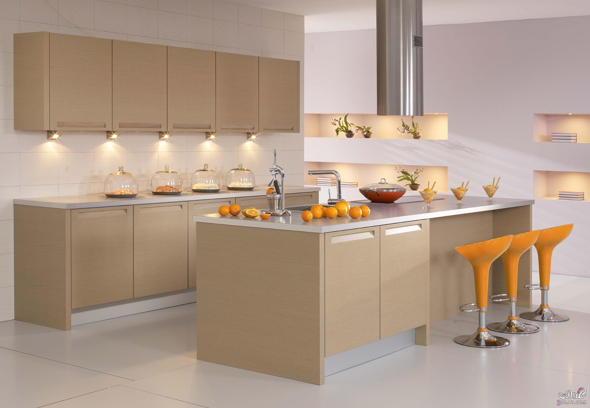 تصاميم عصرية وفخمة للمطابخ الالمانية 2018 , مطابخ المانية بتصاميم