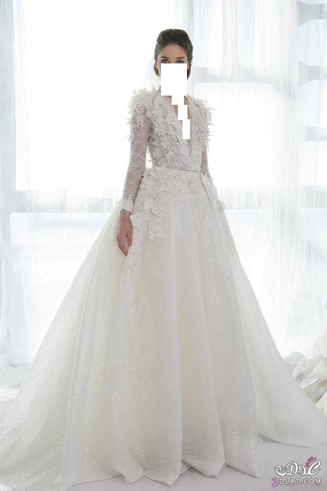 فساتين مميزه فساتين زفاف 2014