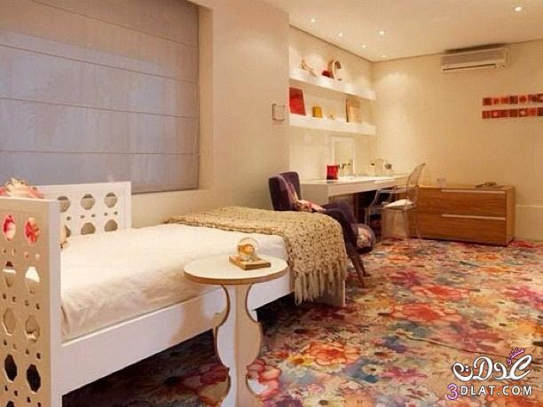 غرف نوم للبنات الكبار , تصاميم اوض نوم للمساحات الصغيرة   اللهم