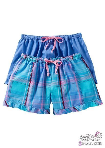 بيت2014,ملابس خفيفة للصيف,بنطالونات وشرطات للبيت,لانجري 3dlat.com_1396218145