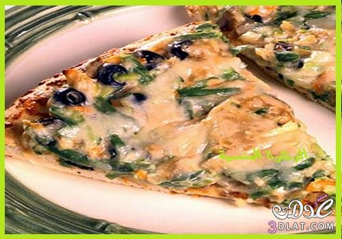طريقة البيتزا الايطالية طريقة بيتزا سهلة 3dlat.com_1396622013