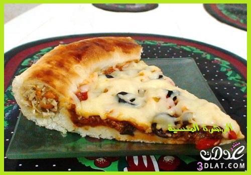 طريقة البيتزا الايطالية طريقة بيتزا سهلة 3dlat.com_1396622518