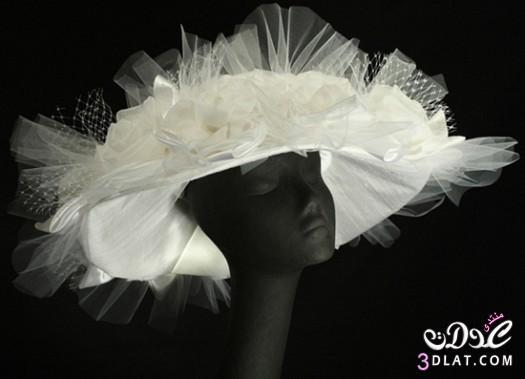 قبعات عصرية لاحلي عروسة مودرن