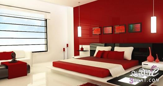 رومانسية حمراء حمراء باللون الأحمر