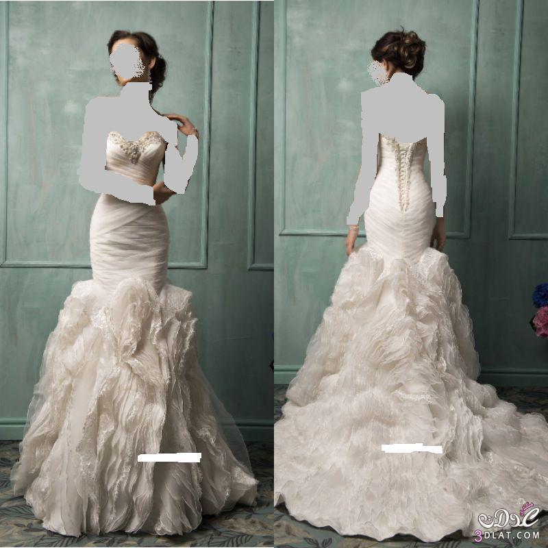 أحدث صيحات فساتين الزفاف العالمية