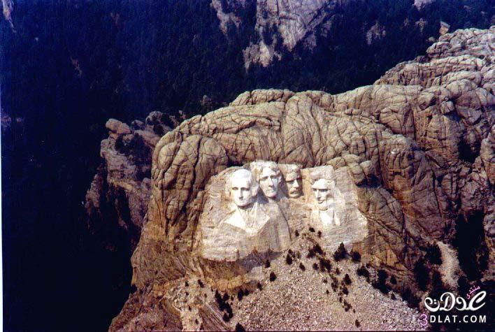 جبل راشمور  تحفة معمارية  3dlat.com_13970362788