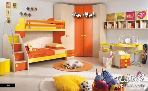 غرف نوم اطفال رائعة,اجدد موديلات غرف النوم الاسبانية للاطفال,غرف